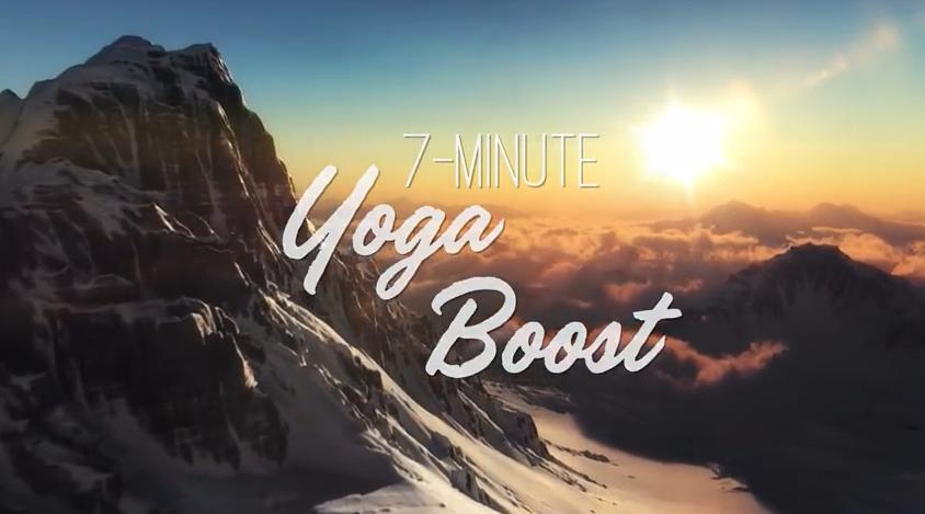 RAYONNER, 7 min de Yoga pour vous Booster !