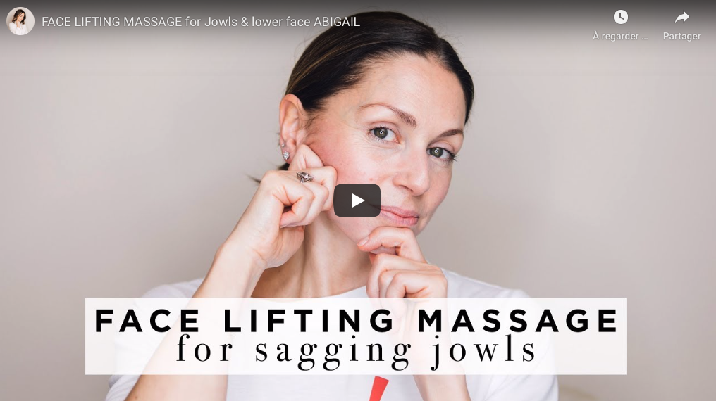 """ Force de l'âge"" – Lift Massage du visage"