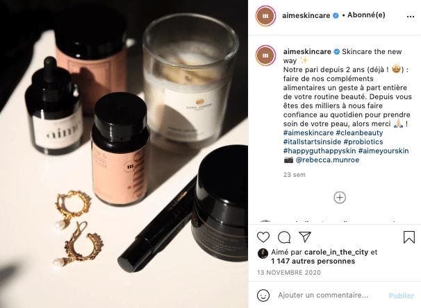 Ma sélection de cosmétiques éthiques et naturels à foilow sur Instagram, Aime !
