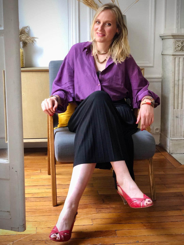 Découvrez le avant-après de la merveilleuse Alice, et les conseils avisés de Chloé Crépin, Echlosion à Paris.